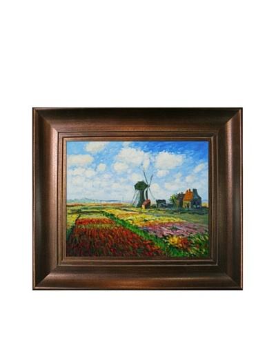 Claude Monet Tulip Field with the Rijnsburg Windmill