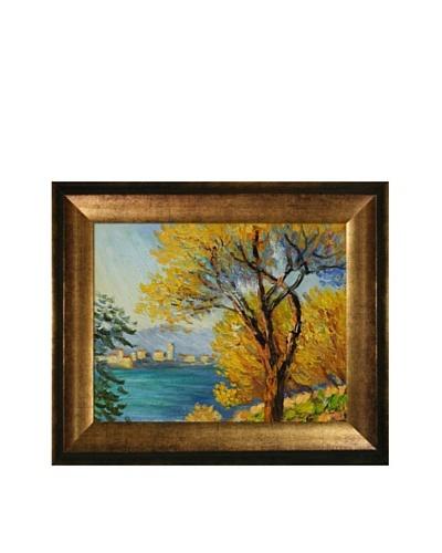 Claude Monet Antibes, View of Salis