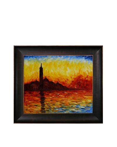 Claude Monet San Giorgio Maggiore by Twilight