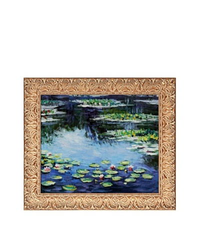 Claude Monet Water Lilies Framed Oil Painting