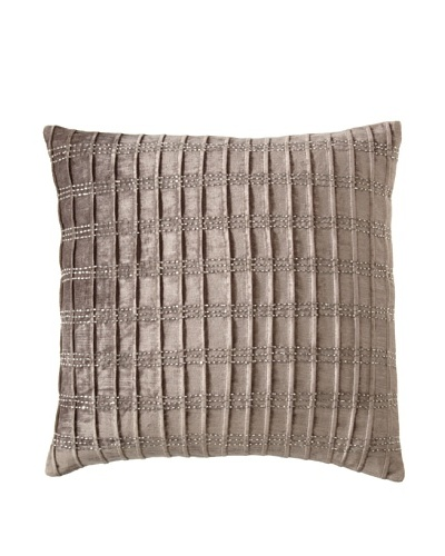 Cloud9 Bijoux Pillow, Grey, 18 x 18