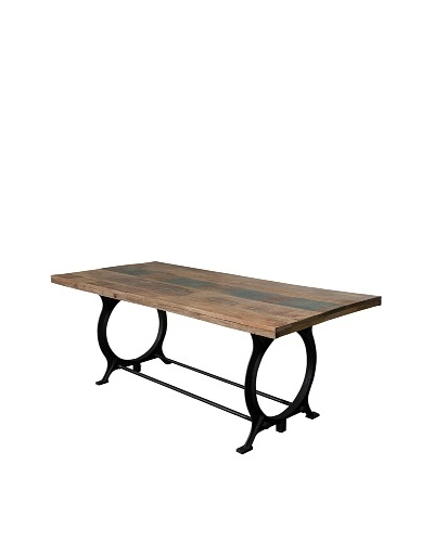 Coast To Coast Iron & Mango Dining Room Table, Light Brown