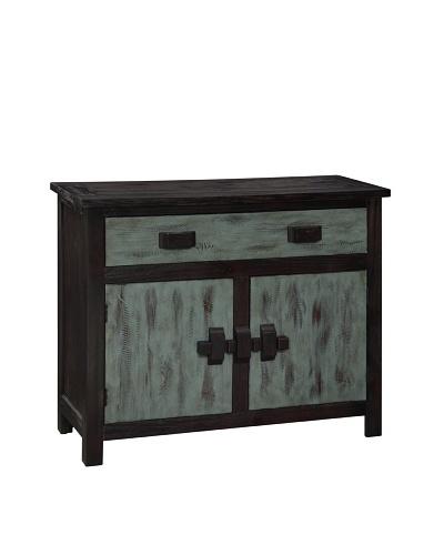 Coast To Coast Berkley 2-Door 1-Drawer Cabinet, Black