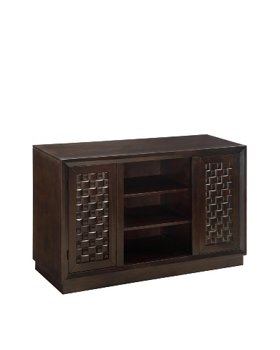 Coast To Coast 3-Drawer Chest, White/Tobacco
