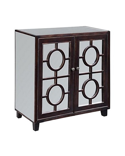 Coast to Coast Two Door Mirrored Cabinet