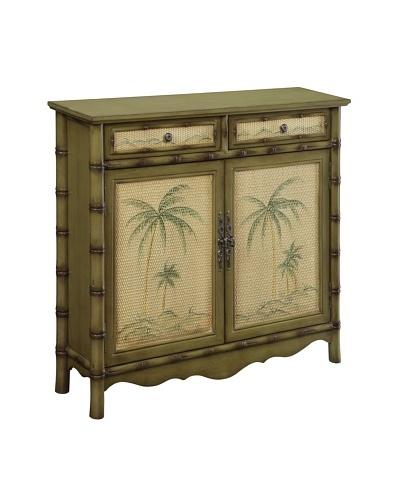 Coast to Coast Palm Tree Cupboard, Green