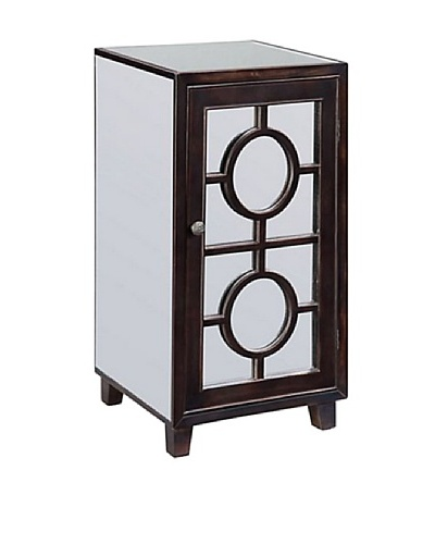 Coast to Coast One Door Mirrored Cabinet
