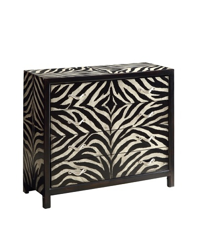 Coast to Coast Zebra Chest, Tan