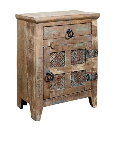 Coast to Coast Single-Door Accent Chest with Drawer, Multi