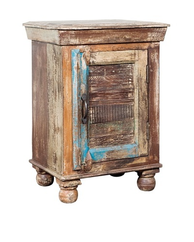 Coast to Coast Reclaimed Wood Accent Table, Multi