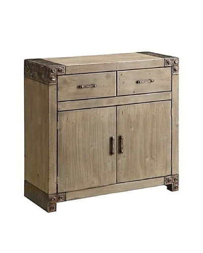 Coast to Coast Two-Drawer Two-Door Cabinet