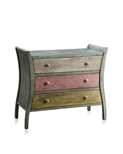 Coast to Coast Darwin 3-Drawer Chest, Multi