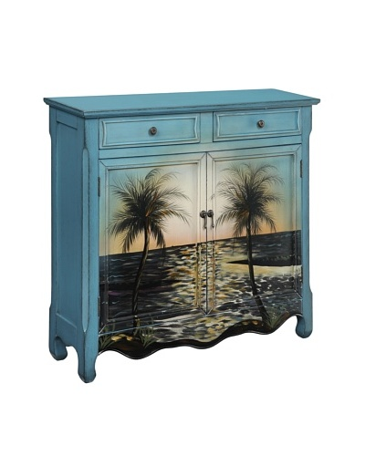 Coast to Coast Ocean View Cupboard, Blue