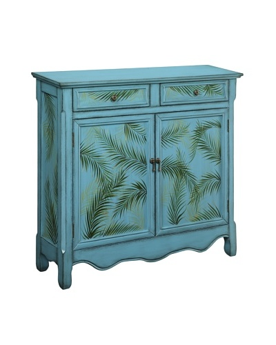Coast to Coast Palm Cupboard, Blue