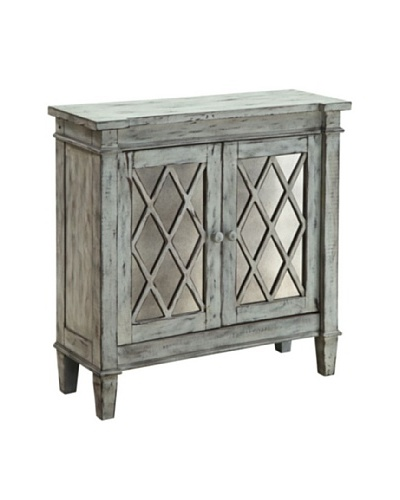 Coast to Coast 2-Door Lattice Cabinet