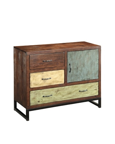 Coast to Coast Rogers Three Drawer One Door Chest
