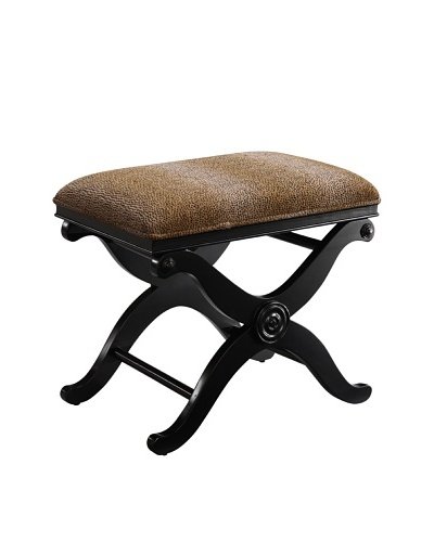 Coast to Coast Bench, Black/Brown