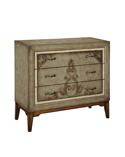 Coast To Coast Davis 3- Drawer Chest, Tan