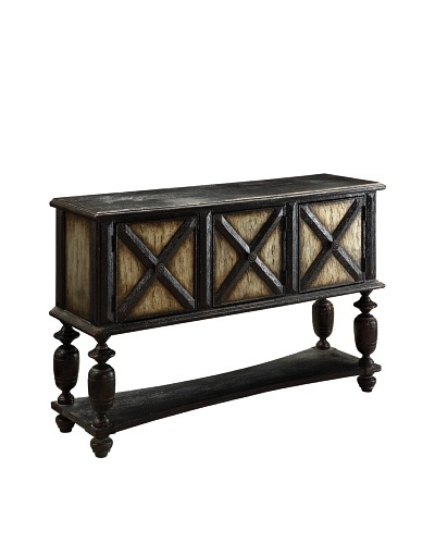 Coast to Coast Console Table, Brown