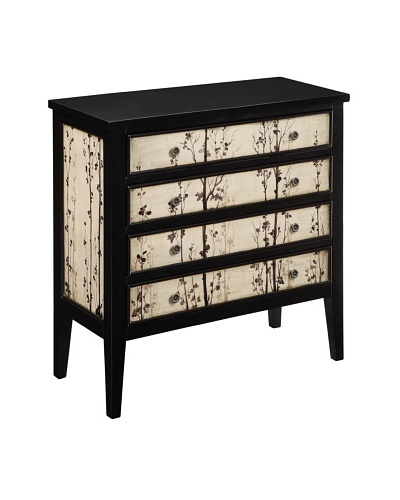 Coast to Coast 4-Drawer Chest, Brown