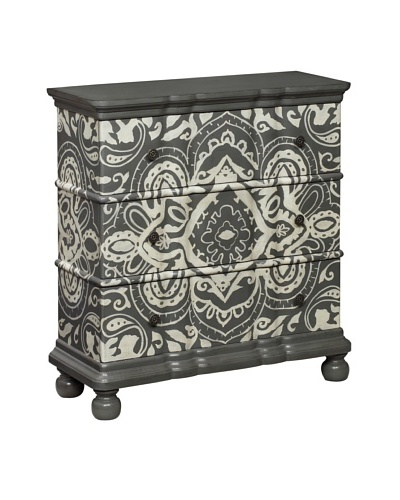 Coast To Coast Tremont 3-Drawer Chest, Grey