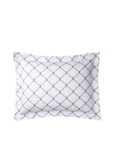 COCOCOZY Kip Sham, White/Gray, Standard