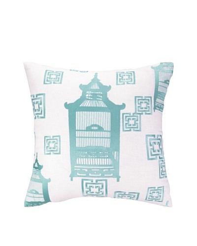Cococozy Birdcage Toile Pillow