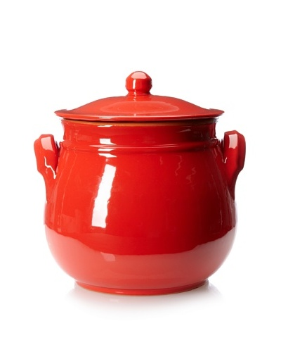 COLI Bakeware 3.75-Qt. Italian Ceramic Round Dutch Oven, Red