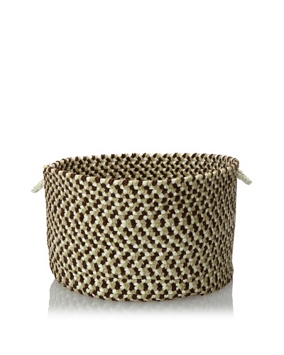 Colonial Mills Chenille Multi Mix Storage Baskets, Mint Chip