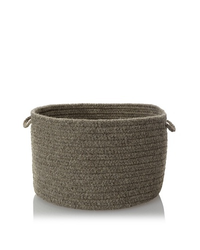 Colonial Mills Solid Storage Baskets, True Gray