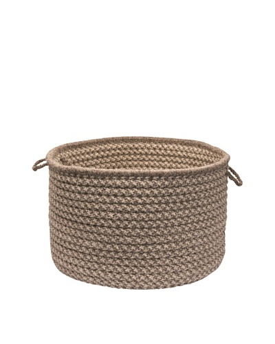 Colonial Mills Natural Wool Houndstooth Basket,
