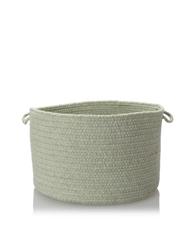 Colonial Mills Soft Solid Storage Baskets, Misted Green