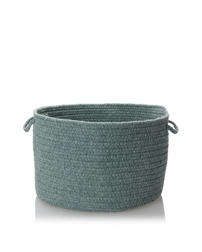 Colonial Mills Soft Solid Storage Baskets, Soft Teal