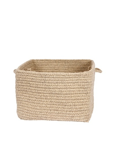 Colonial Mills Chunky Natural Wool Basket,