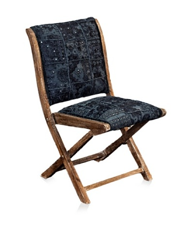 nuLOOM Sari Silk Folding Chair