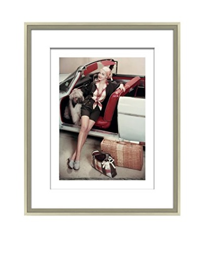 Conde Nast Glamour Magazine Model Traveling Editorial Art