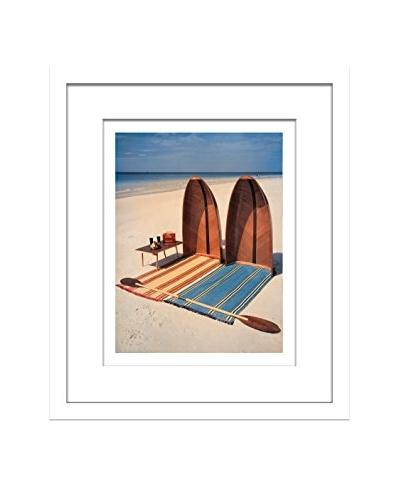 Conde Nast House & Garden Beach Day Editorial Art