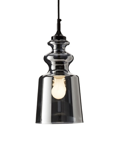 Contardi Cornelia SO Pendant Lamp, Black/Chrome