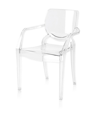 Control Brand The Ellison Chair for Kids, Clear
