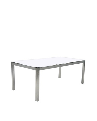 Control Brand Chalcis Dining Table, White
