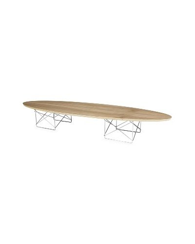 Control Brand Elliptical Coffee Table, Walnut
