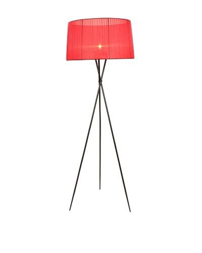 Control Brand Sticks Floor Lamp, Red