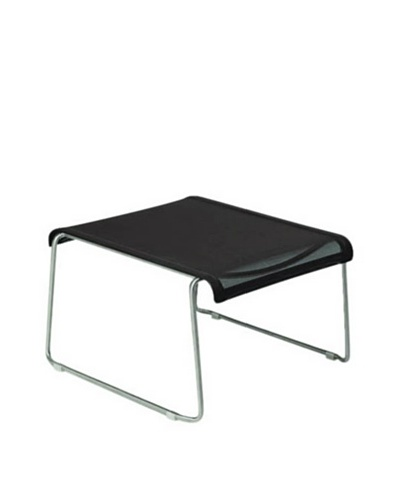 Control Brand Voula Foot Stool, Silver