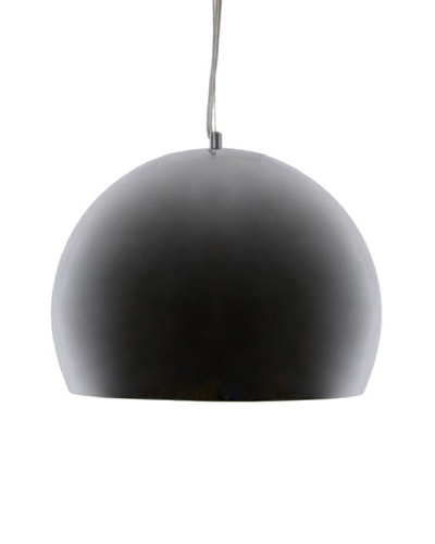 Control Brand Fort Knox Modern Suspension Lamp, Silver
