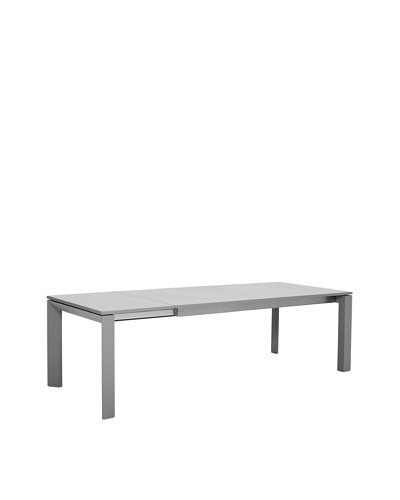 Control Brand Lamia Extendable Dining Table, Grey