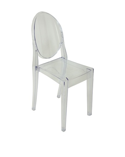 Control Brand PC Chair, Clear