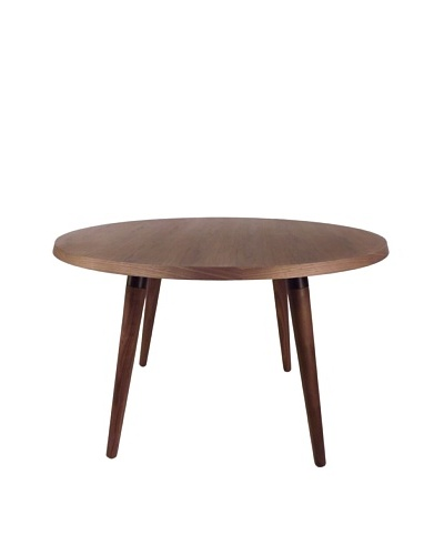 Control Brand Milton Dining Table, Natural/Black