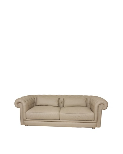 Control Brand Chesterfield-Lux Sofa, Beige