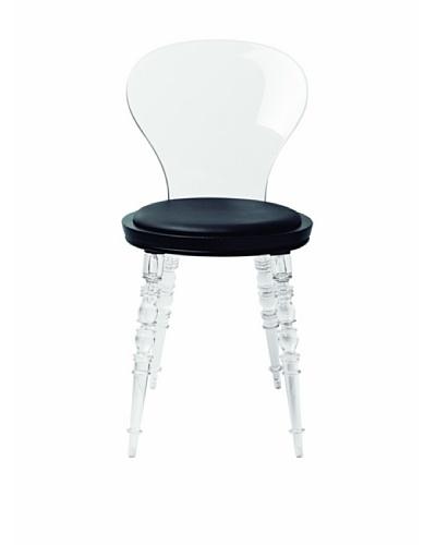 Control Brand Johan Side Chair, Clear