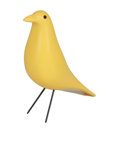 Control Brand Case Study Bird Sculpture, Yellow
